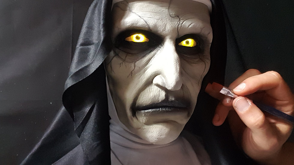 The Nun, Valak, from the Conjuring Universe - Lifesize Silicone Bust