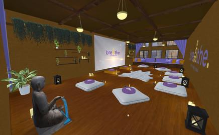 breathe meditation room