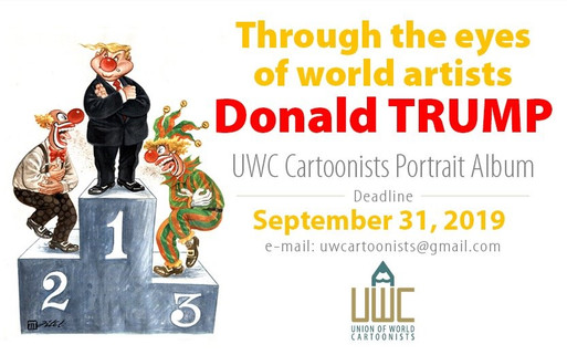 Union of World Cartoonists (UWC) New Exhibitions & Portrait Album Projects