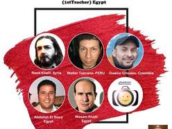 Jury of Rakha's 1st International Caricature Competition (1stTeacher) Egypt-2021