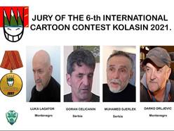 Jury Of The 6th International Cartoon Contest Kolasin 2021/Montenegro
