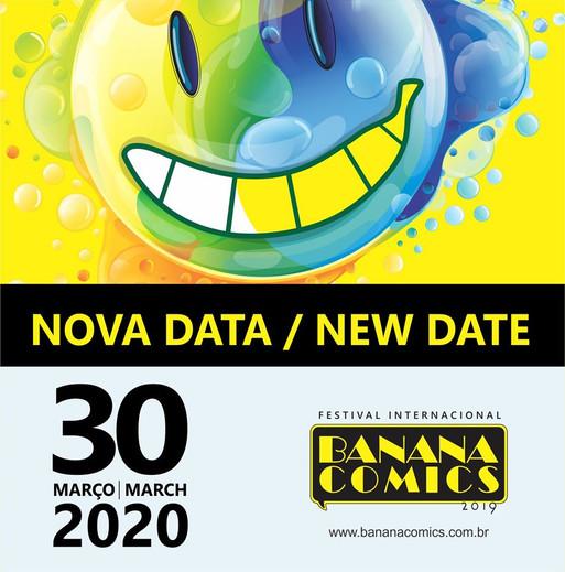 NEW DEADLINE of the International Festival Banana Comics 2019 | Brazil