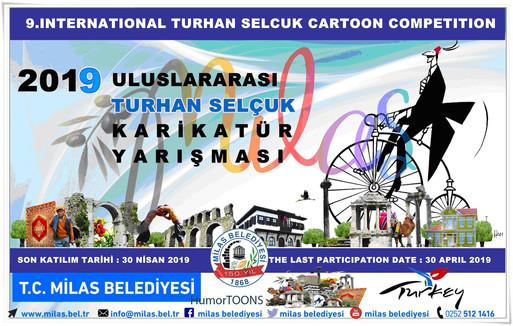 The results of the 9th International Turhan Selcuk Cartoon Competition 2019 Milas Mugla, Turkey