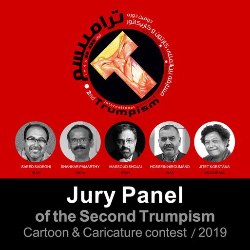 The Jury panel of Trumpism International cartoon & Caricature Contest-2019