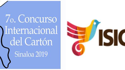 RESULTS of the 7o. Concurso Internacional del Cartón, Sinaloa 2019