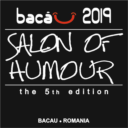 The 5th Salon of Humour, International Cartoon Contest Bacau 2019, Romania
