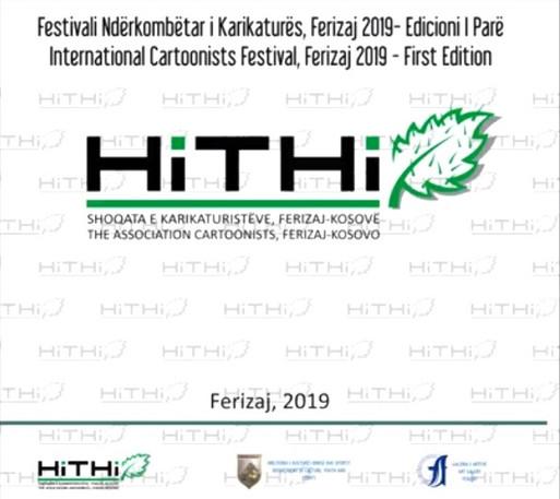 Catalogue of the The First International Cartoonists Festival Ferizaj 2019, Kosovo