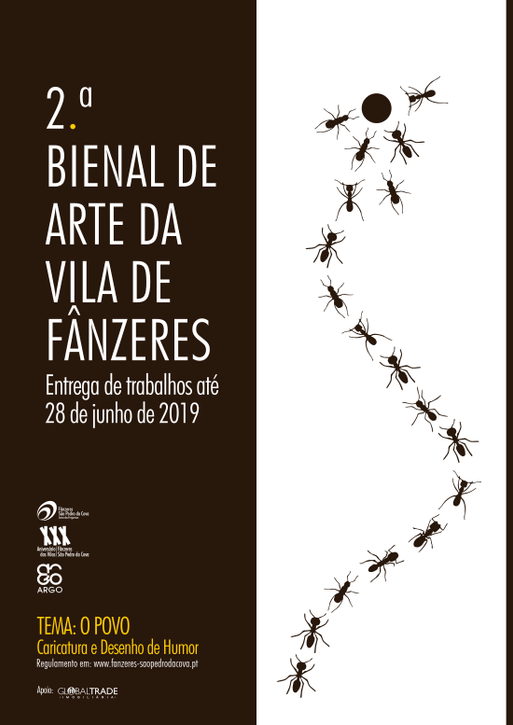 The results of the 2nd Biennial of Art of the Village of Fânzeres Portugal-2019