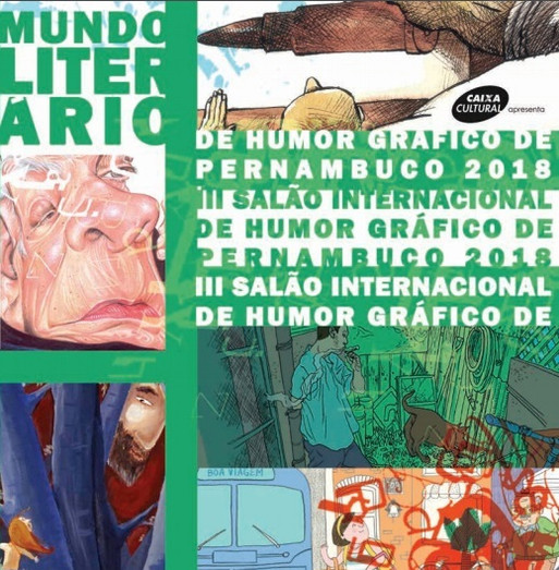 E-Catalog of the III Salon of Graphic Humor of Pernambuco 2018