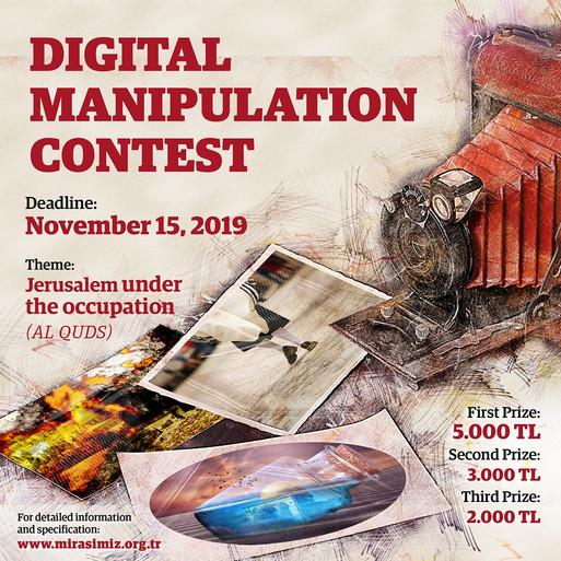 International digital manipulation cartoon contest-2019, Turkey