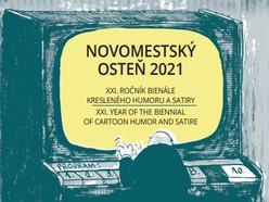 CATALOGUE (PDF) of the  XXI. Year of the biennial of cartoon humor & satire Novomestský osteň-2021
