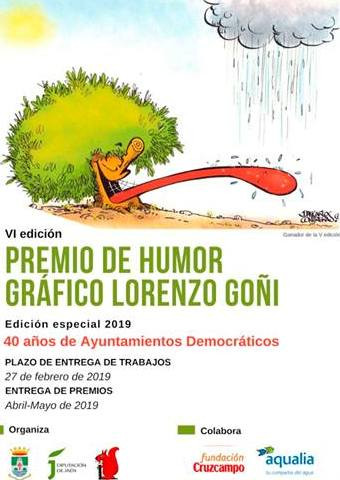 VI International prize of Lorenzo graphig humor GOÑI 2019 (Spain)