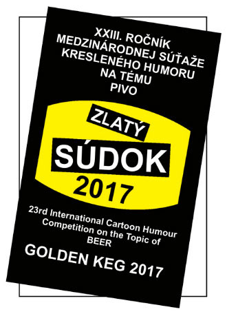 The results of the  XXIII International Cartoon Competition THE GOLDEN KEG Preśov Slovakia.