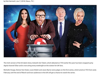 Ireland's Got Talent on 5StarTV