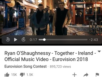 EUROVISION SONG CONEST , LISBON 2018