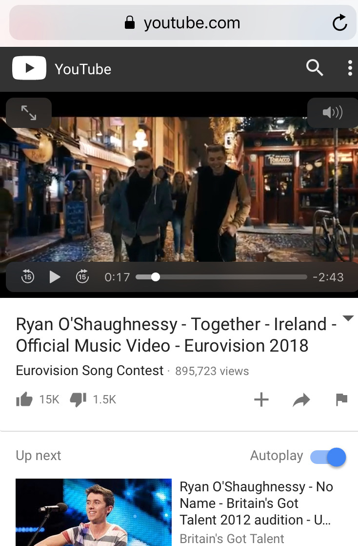 We loved working on this video with Director Christian Tierney for Irelands entry for this years Eurovision. We can't wait to get out to Lisbon with Ryan and all the team for the Live shows.See ya soon Portugal