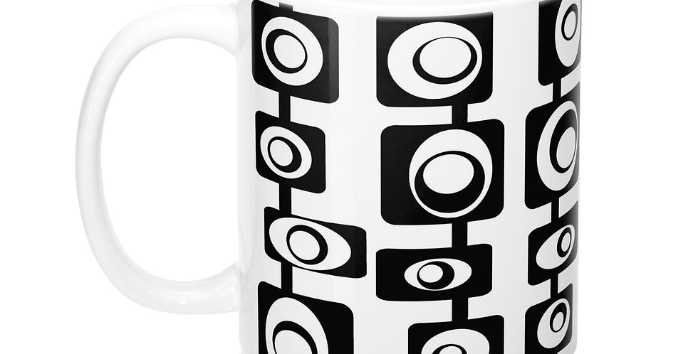 mid century modern mug