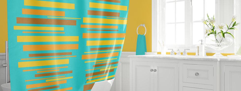 Mid Century Modern Shower Curtain - Zeb
