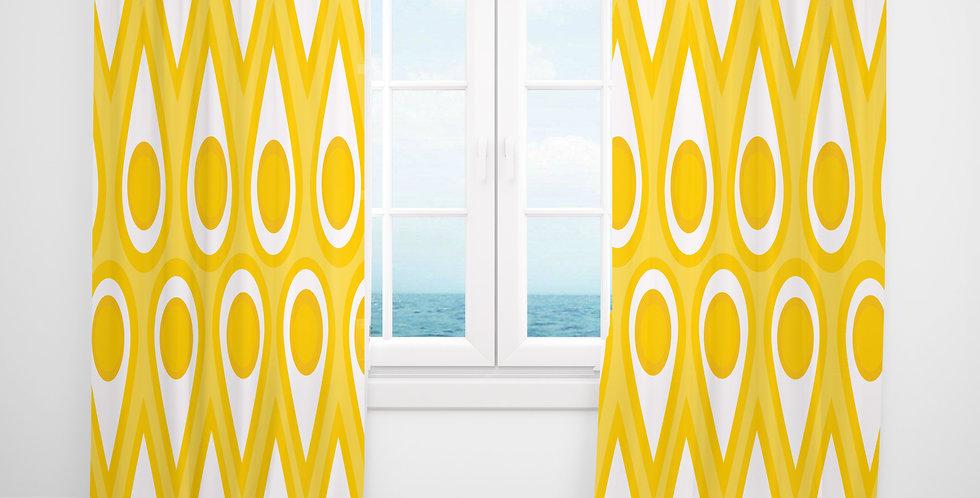 Mid Century Modern Curtains - Maurice