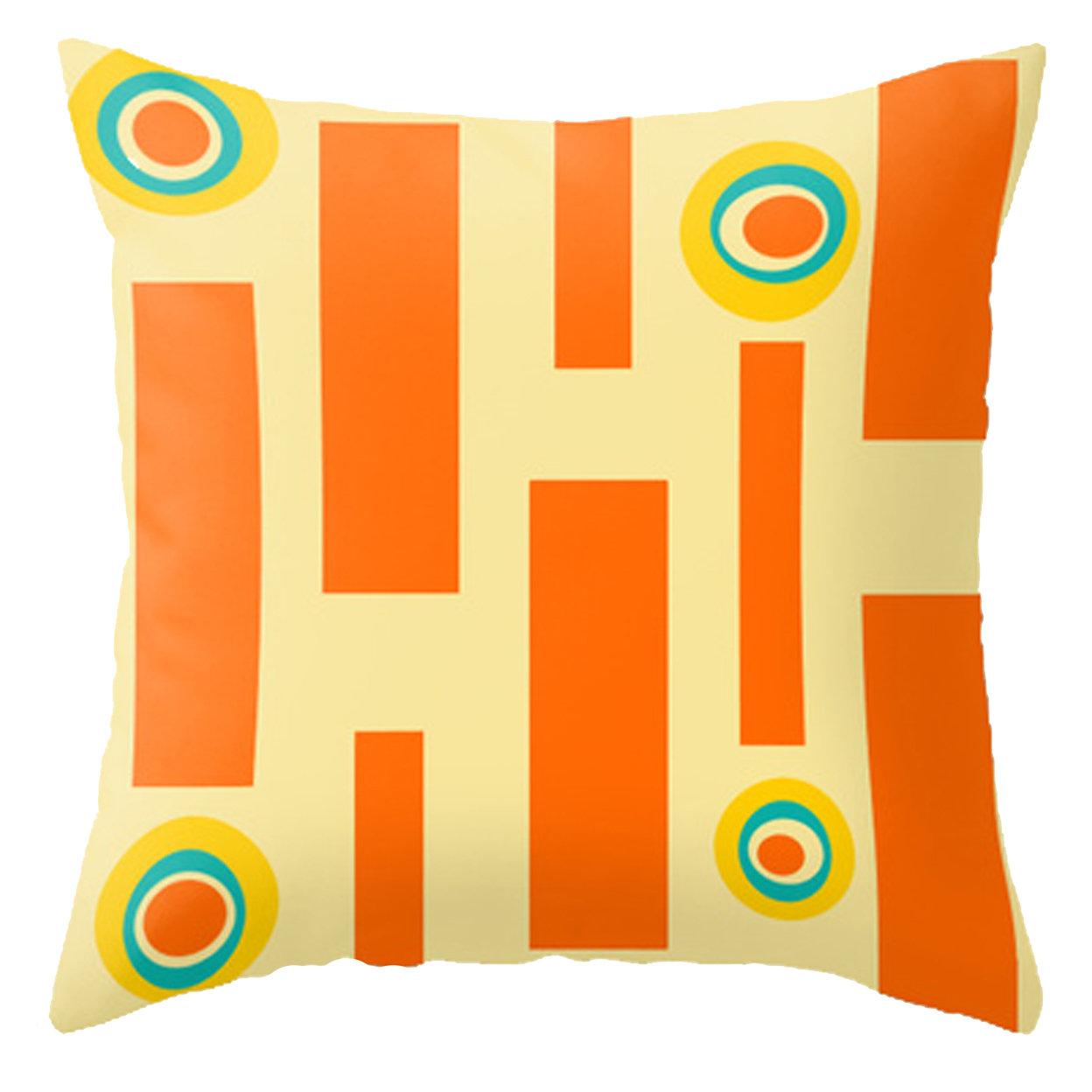 mid century modern pillows united states  crash pad designs  - modern outdoor pillow adler
