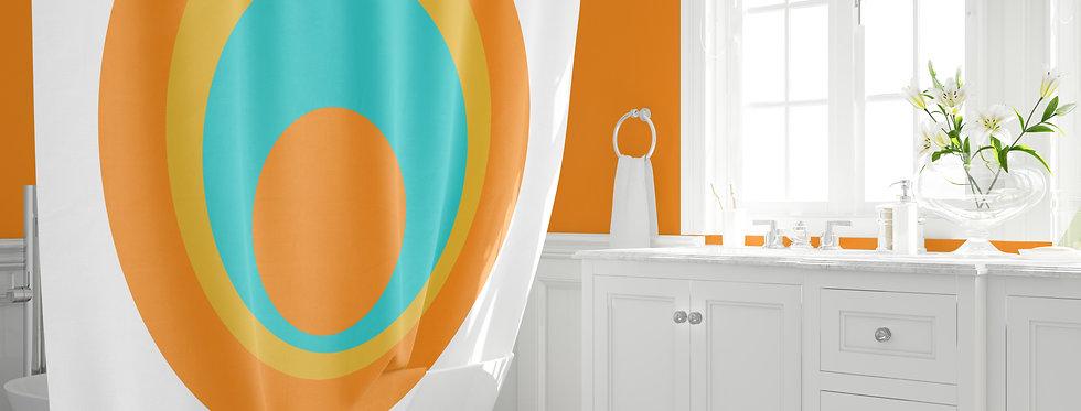 Mid Century Modern Shower Curtain - Franklin