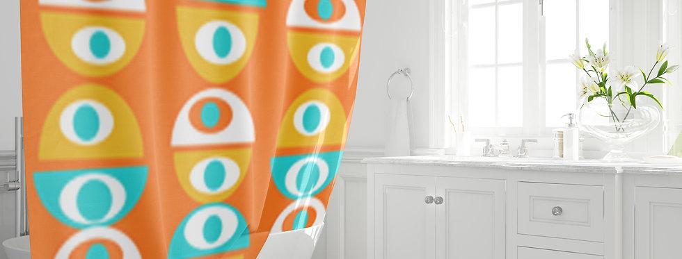 Mid Century Modern  Shower Curtain - Henry