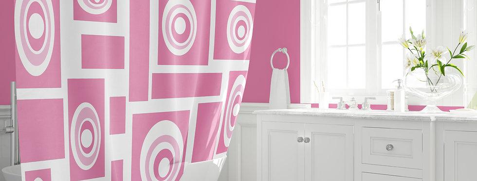 Mid Century Modern Shower Curtain - Preston