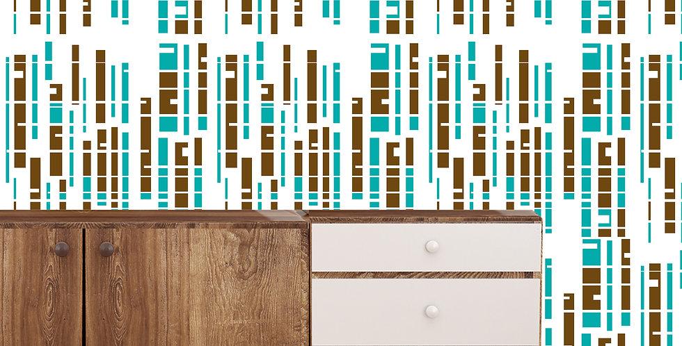 Cassius - Mid Century Modern Wallpaper