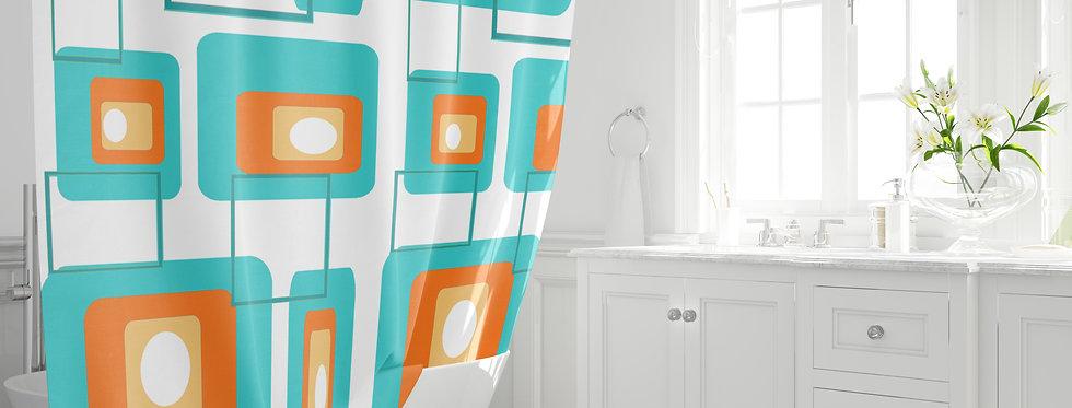 Mid Century Modern Shower Curtain - Gus