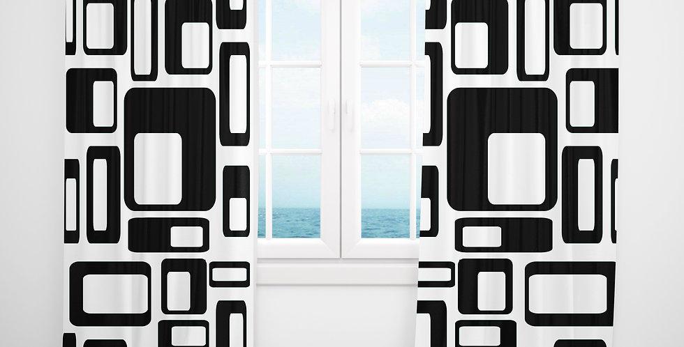 Mid Century Modern Curtains - Benson