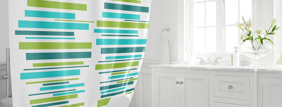 Mid Century Modern Shower Curtain -  Bruce