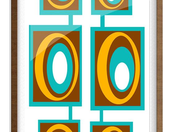 Mid Century Modern Poster 0003