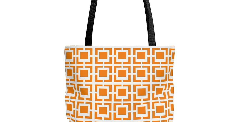 Breeze Block Tote Bag