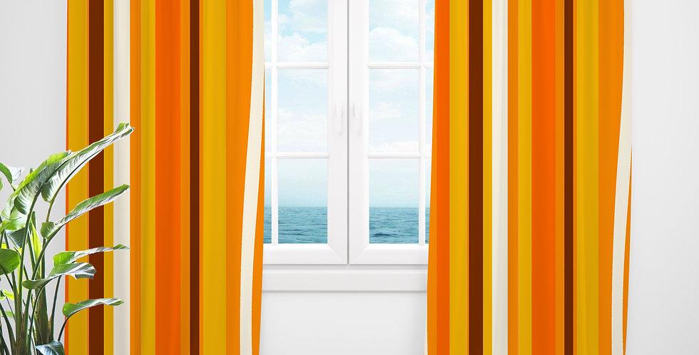Mid Century Modern Curtains - Benji