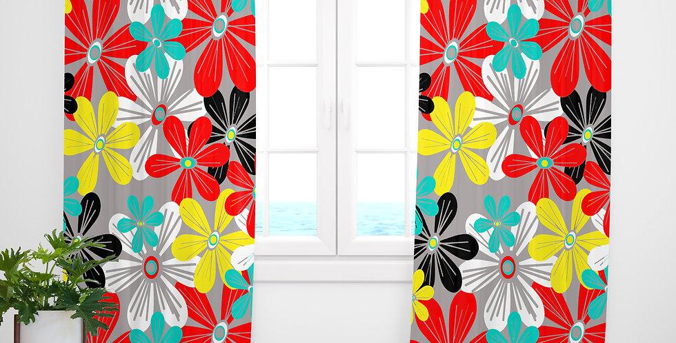 Mid Century Modern Curtains - Miles
