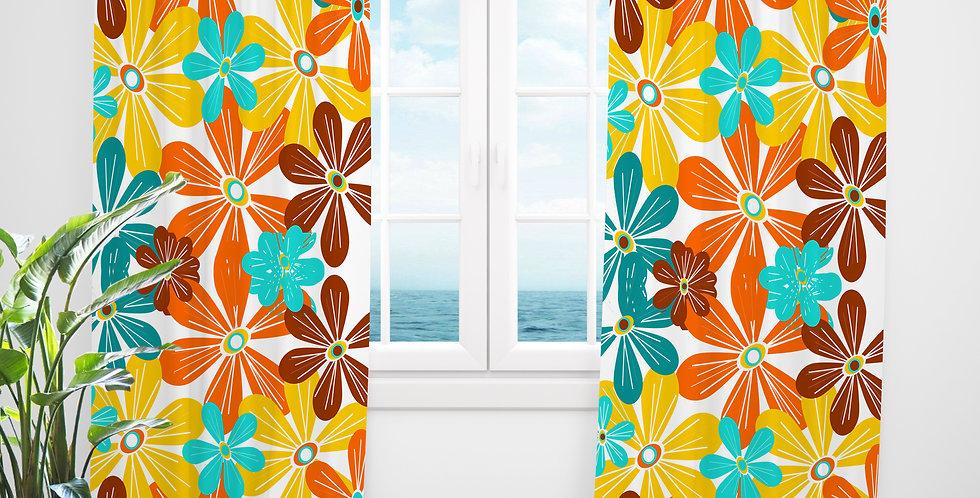Mid Century Modern Curtains - Kyle