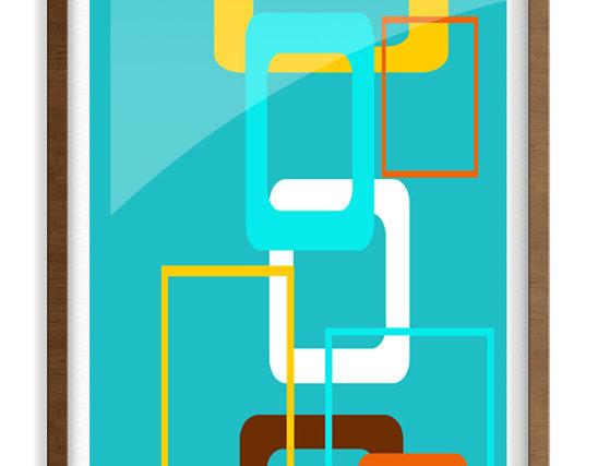 Mid Century Modern  Poster 0031