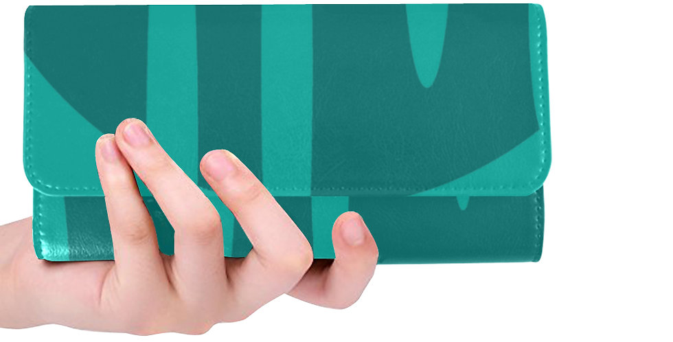 Teal/Turquoise Wallet