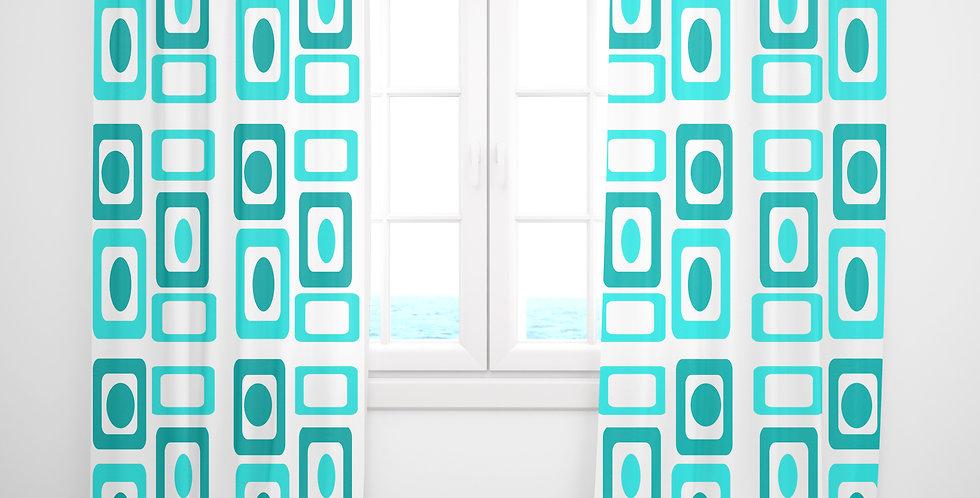 Mid Century Modern Curtains - Bret