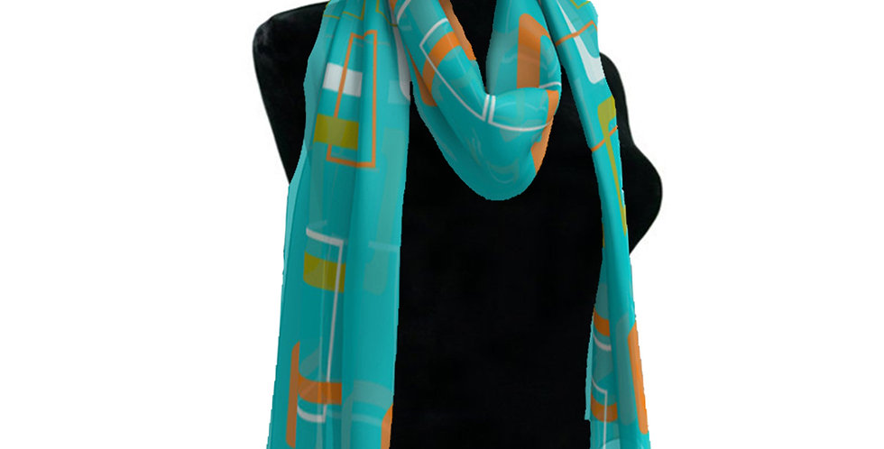 Blue/Orange  Scarf