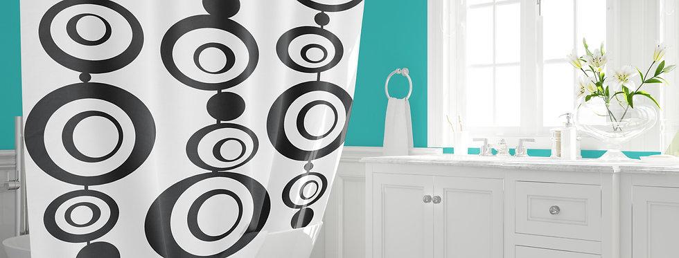 Mid Century Modern  Shower Curtain - Brutus