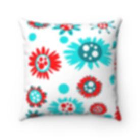 crash pad designs button outdoor pillow.