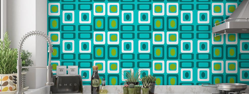 Buck - Mid Century Modern Wallpaper