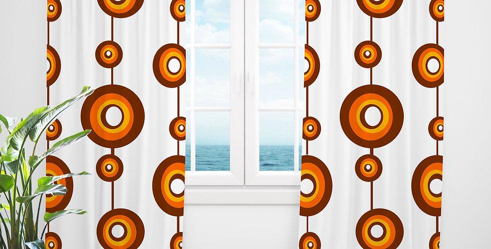 Mid Century Modern Curtains - Verne
