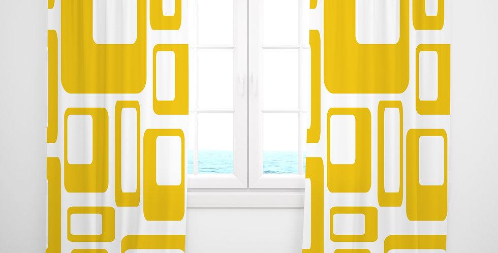 Mid Century Modern Curtains - Taylor