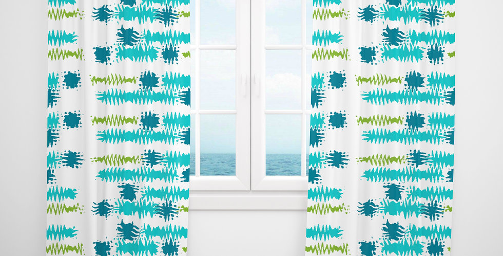 Mid Century Modern Curtains - Clifton