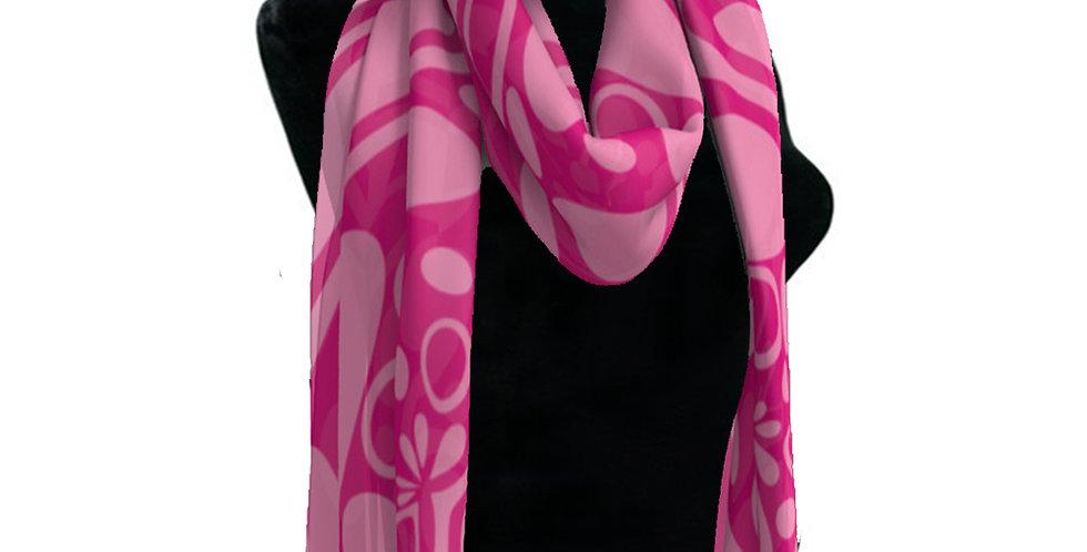 Pink/Pink Scarf