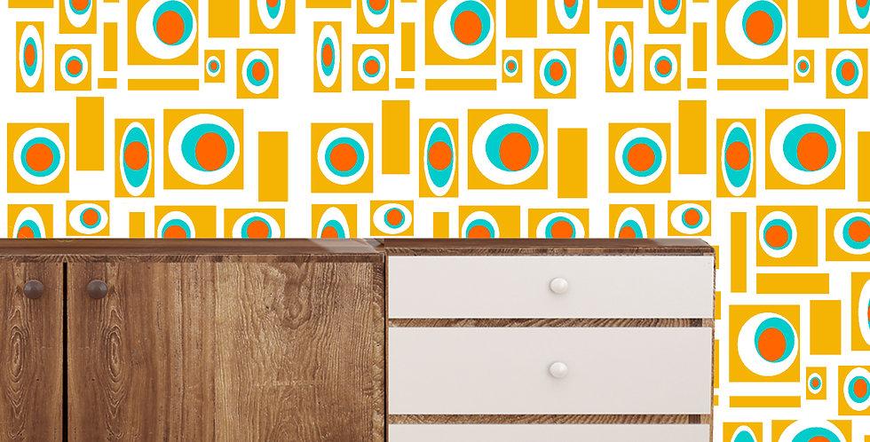 Howie- Mid Century Modern Wallpaper