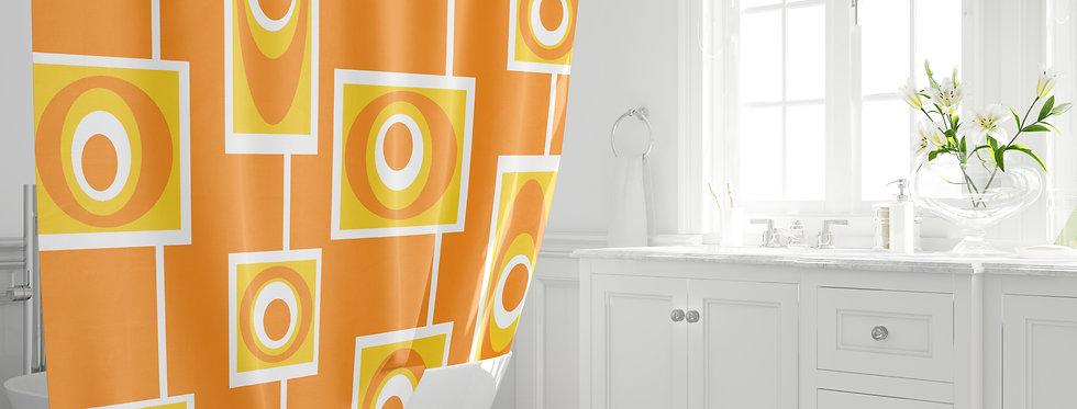 Mid Century Modern Shower Curtain - Jay