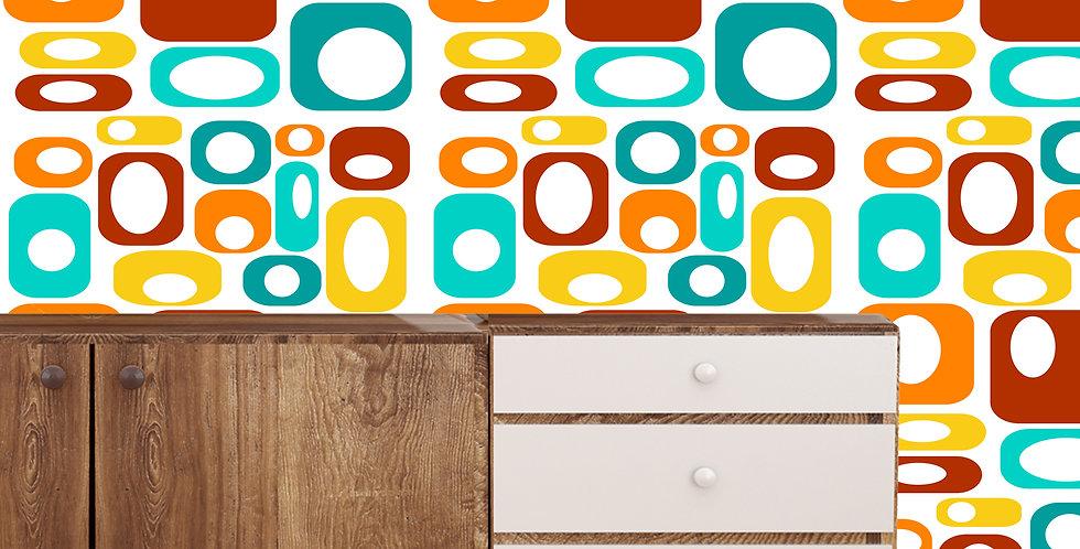 Wiley- Mid Century Modern Wallpaper